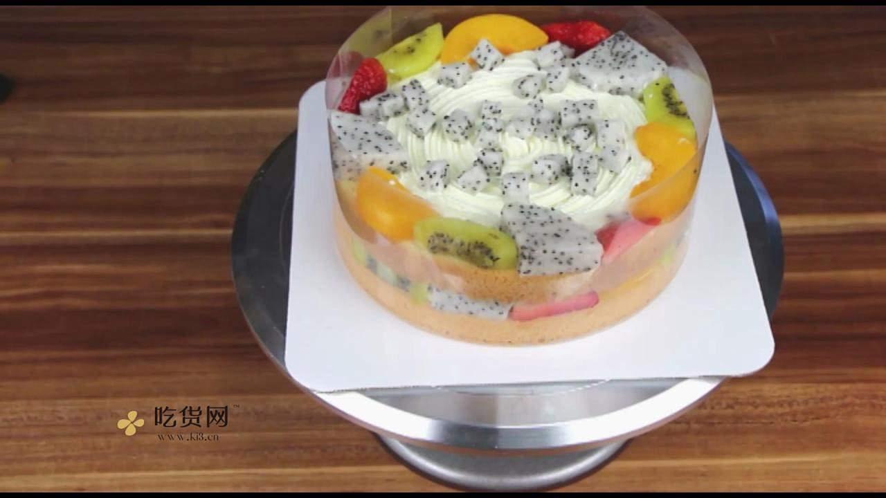 简单美味水果裸蛋糕 无需裱花技巧【视频教学】的做法 步骤12
