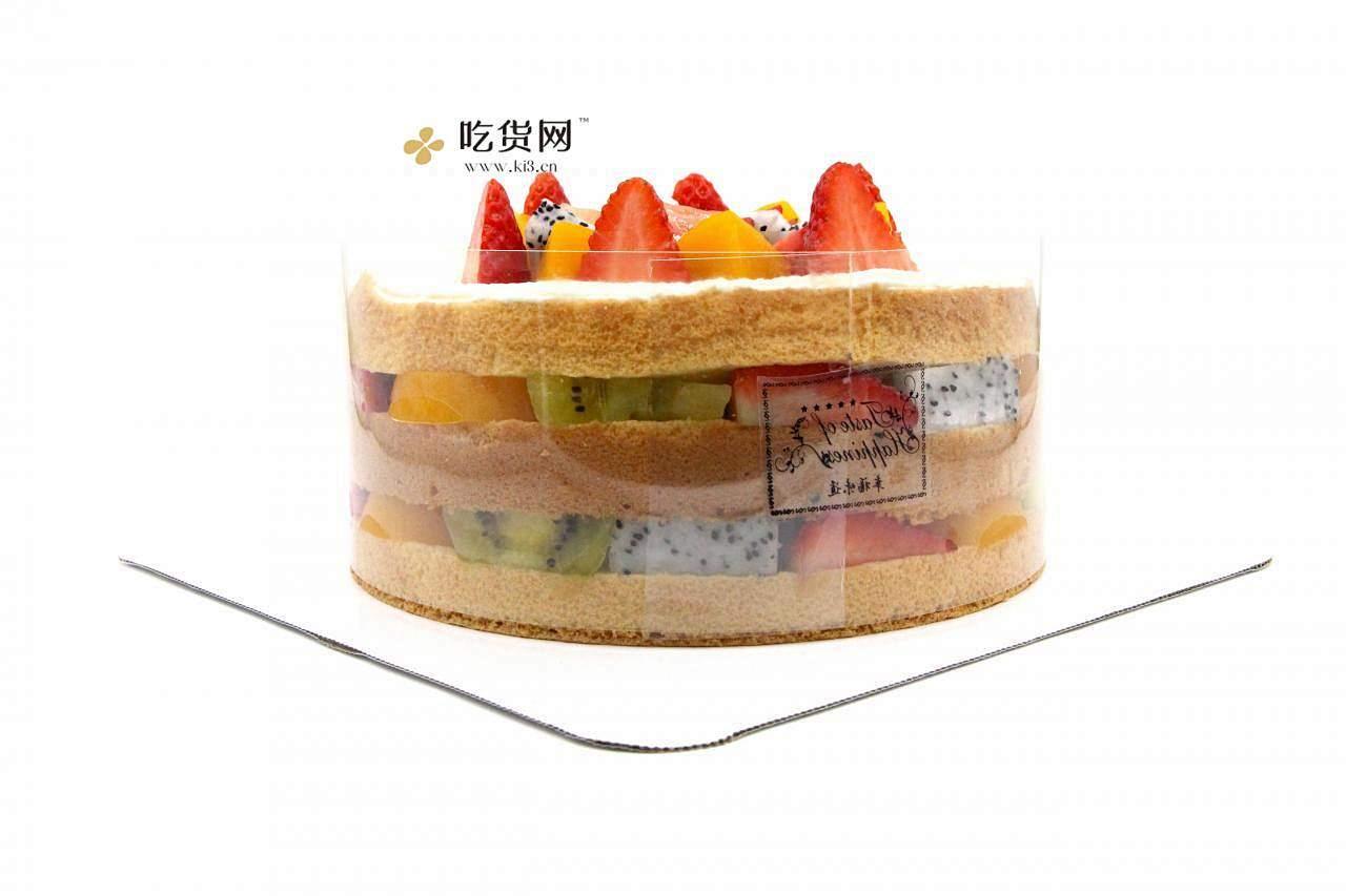简单美味水果裸蛋糕 无需裱花技巧【视频教学】的做法 步骤18