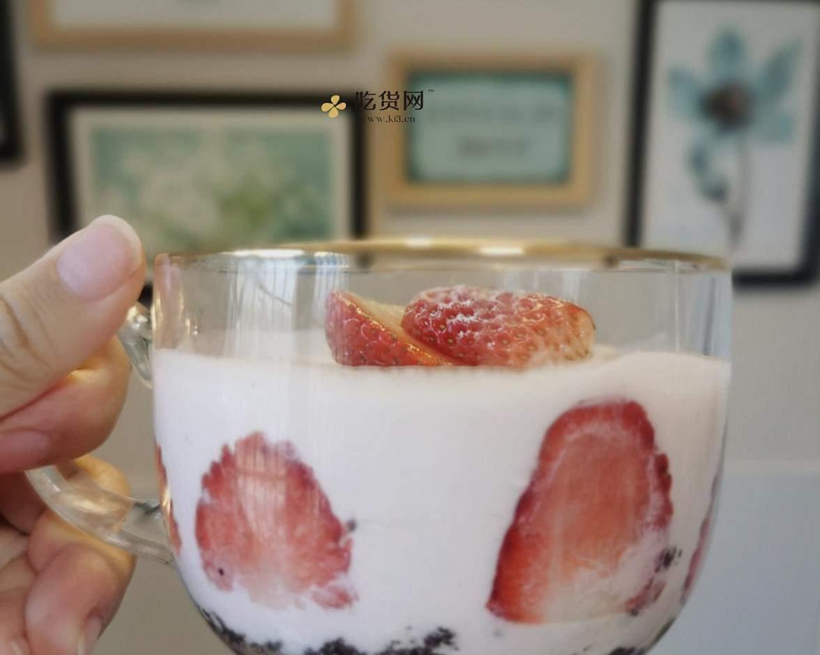 草莓酸奶慕斯的做法 步骤7