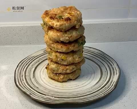 鸡胸饼的做法 步骤10