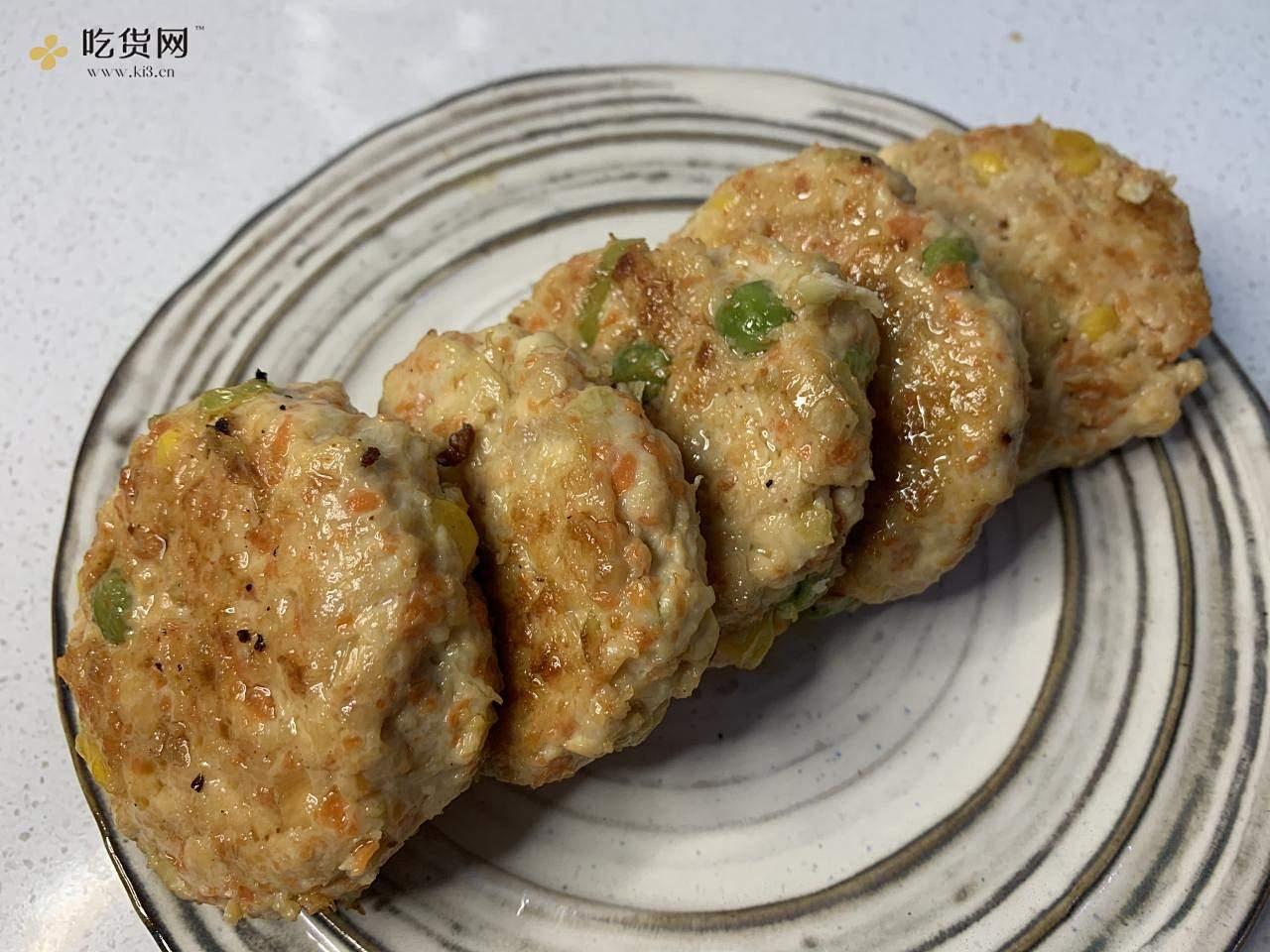 鸡胸饼的做法 步骤12