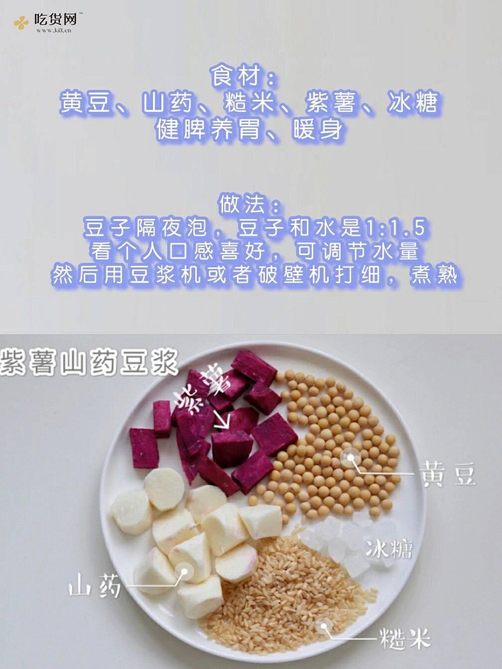 敲简单!一周6款养生豆浆食谱|早餐搭配的做法 步骤4