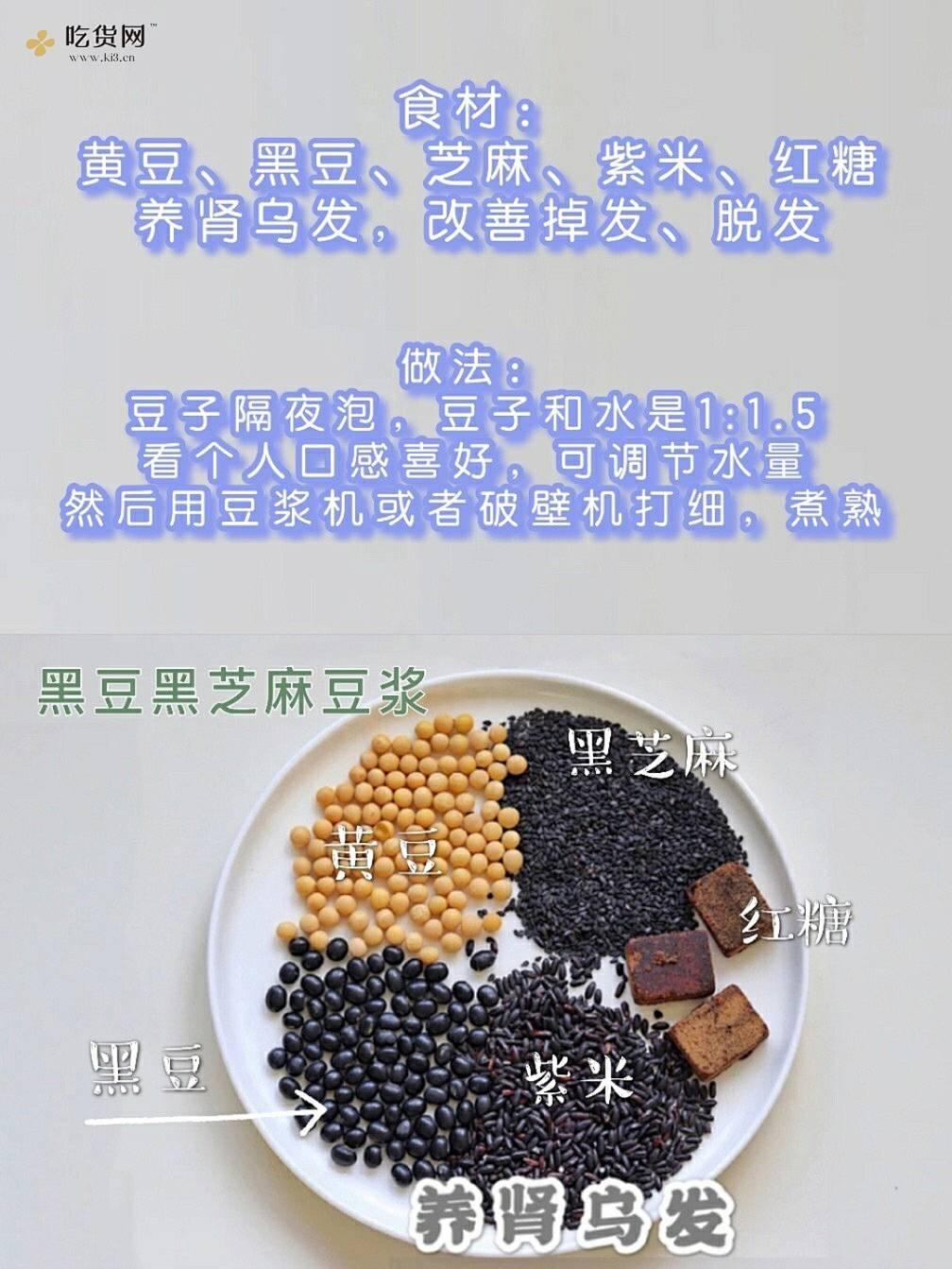 敲简单!一周6款养生豆浆食谱|早餐搭配的做法 步骤5