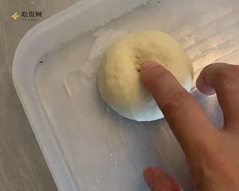 甜甜圈(面包剩了面团也不怕)的做法 步骤3