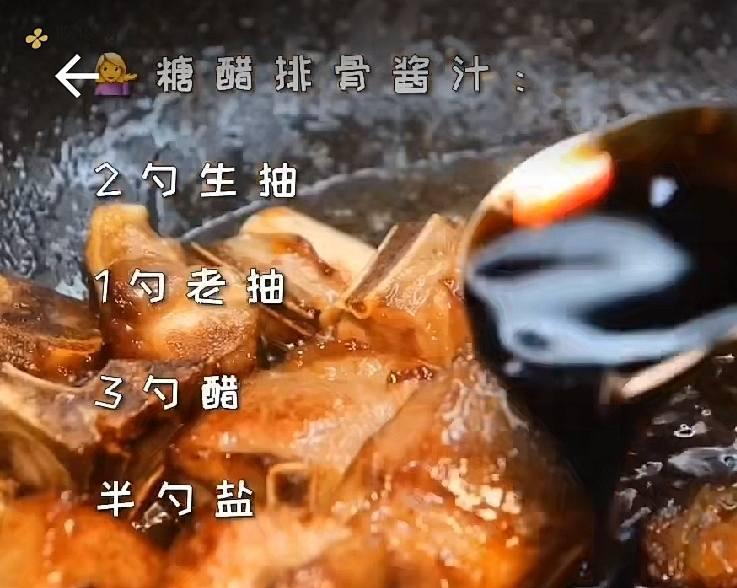 糖醋排骨(简易晚餐,周末开小灶)的做法 步骤6