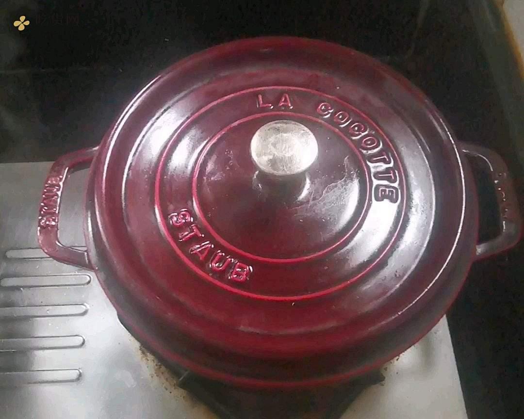 Stau铸铁锅糖醋排骨的做法 步骤10