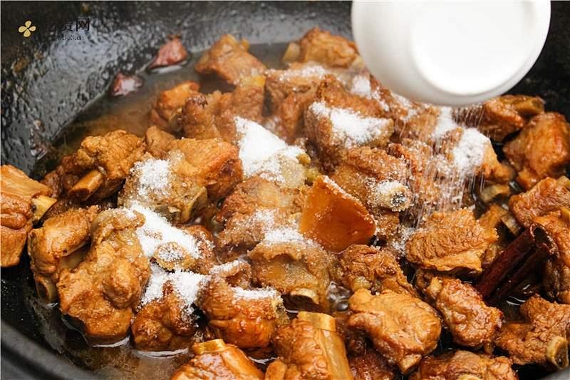 糖醋排骨,春日小鲜肉跳到我的碗里来。的做法 步骤8