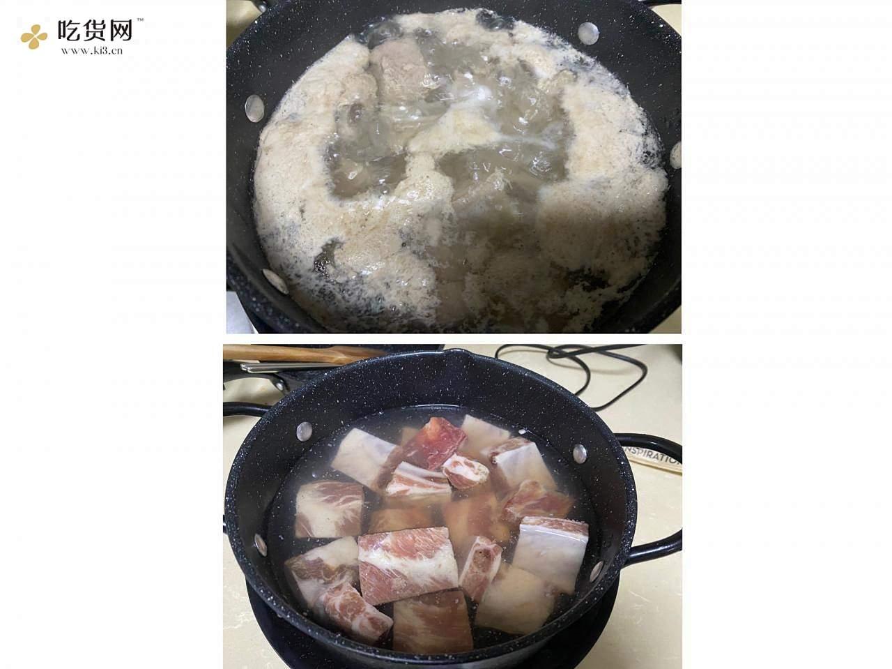 百香果烧排骨(果香版糖醋排骨)的做法 步骤1