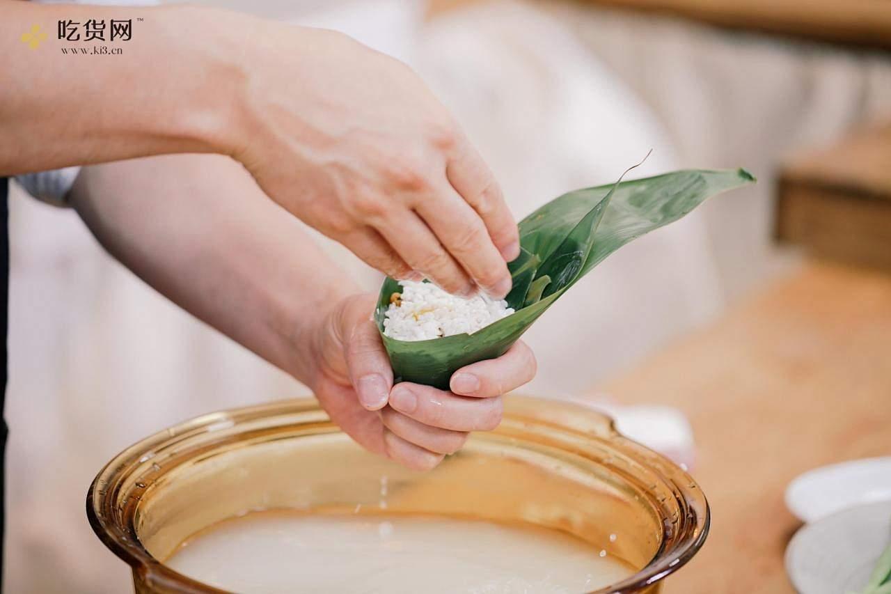 创食计 - 粽子配芥菜咸蛋汤的做法 步骤2