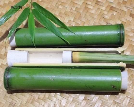 竹筒粽子的做法 步骤2