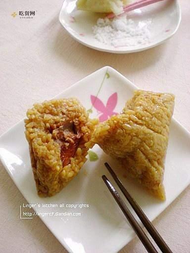 鲜肉粽的做法 步骤5