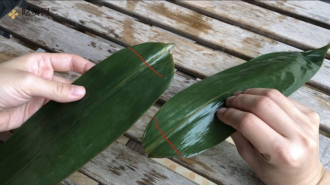 新手小白能学会的极简包粽子教程的做法 步骤2
