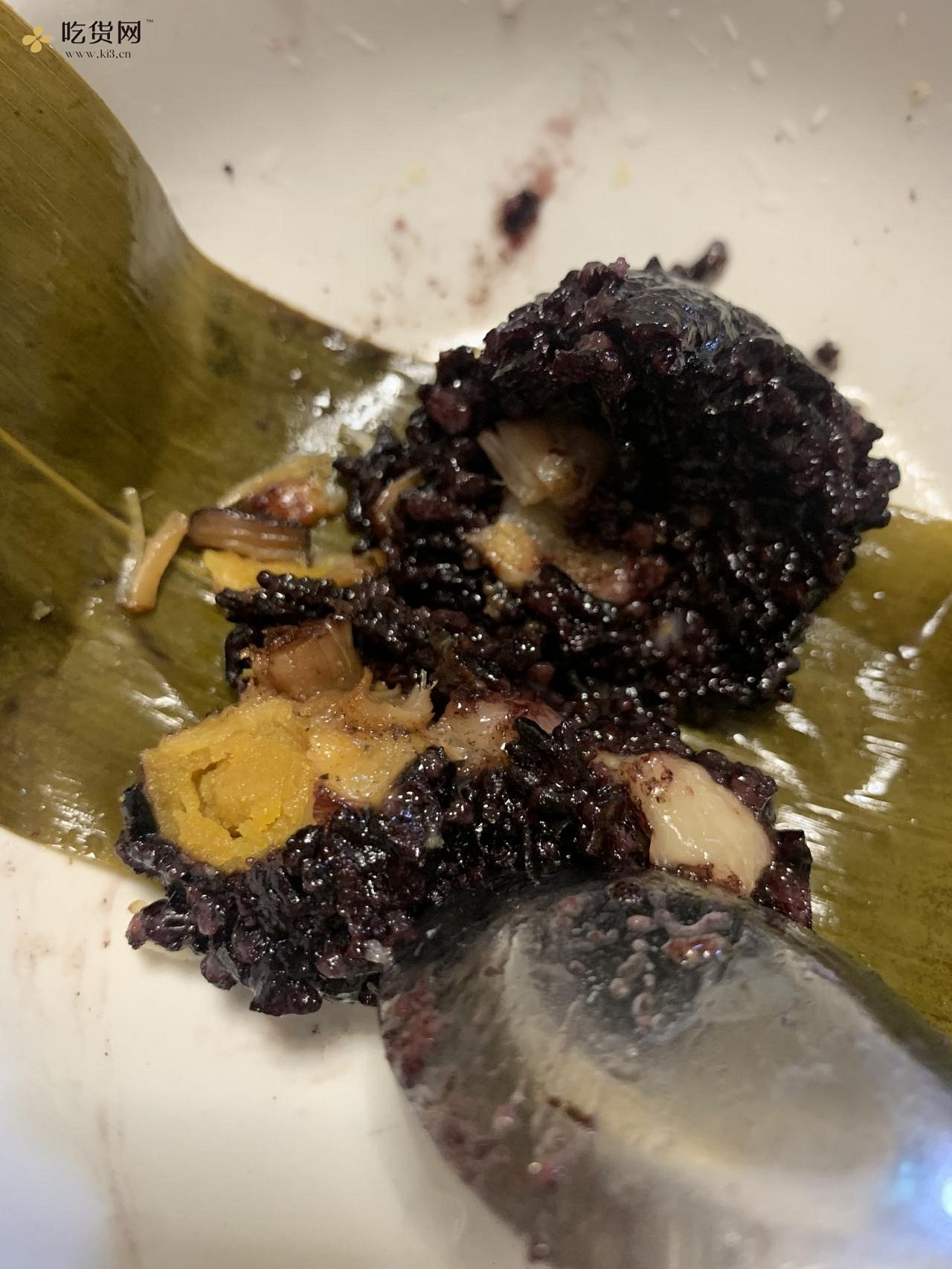 黑糯米粽子的做法 步骤8