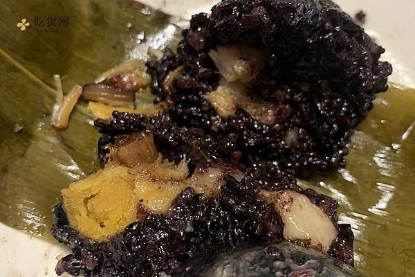 黑糯米粽子的做法步骤图,黑糯米粽子怎么做好吃缩略图