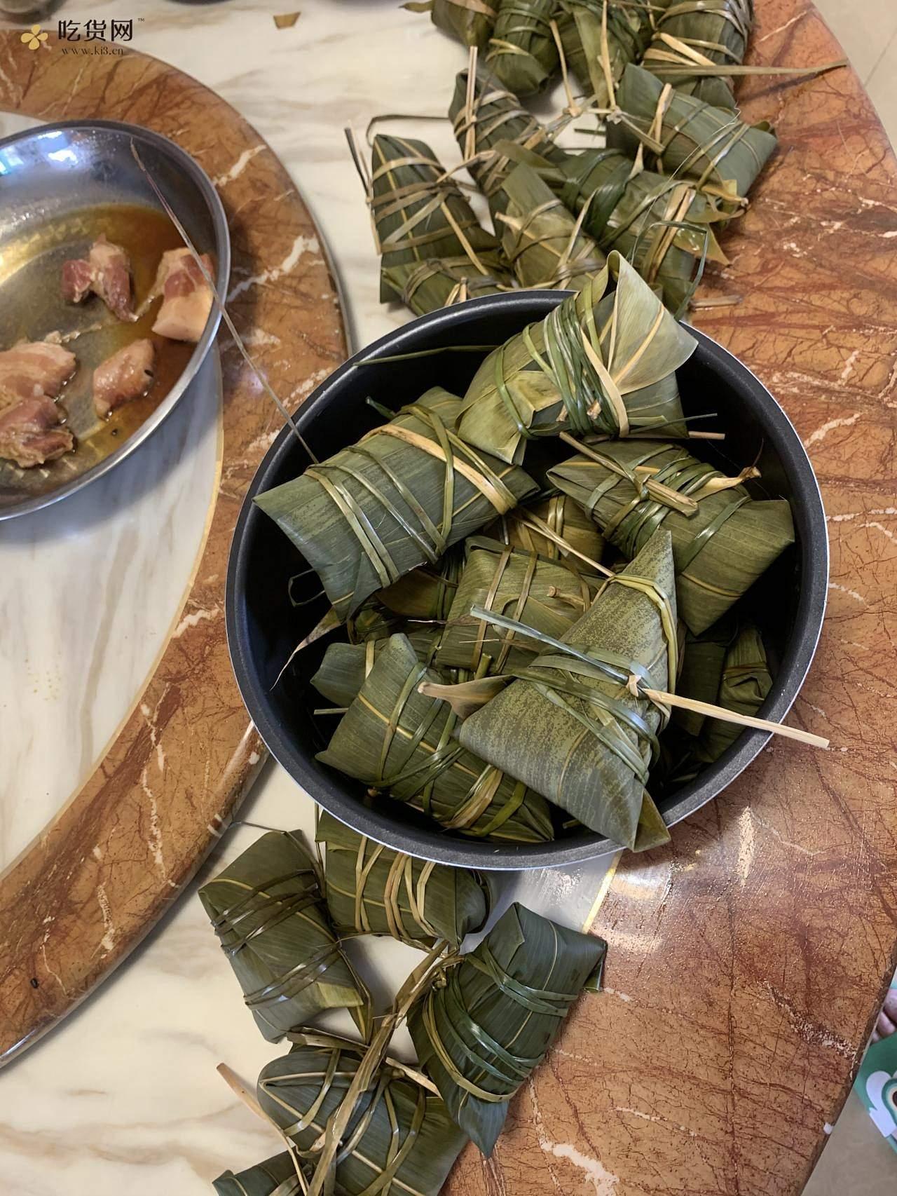 黑糯米粽子的做法 步骤6