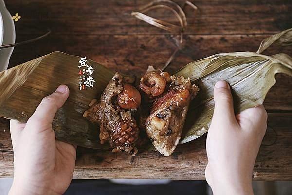鲍鱼鲜味粽的做法步骤图,鲍鱼鲜味粽怎么做好吃缩略图