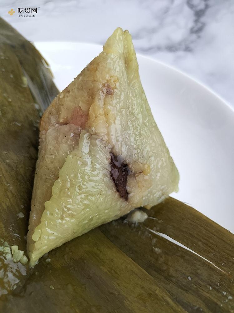 咸蛋黄五花肉粽的做法 步骤4