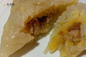 绿豆猪肉粽子的做法步骤图,怎么做好吃缩略图