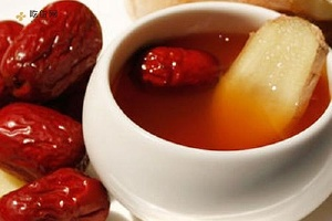 生姜红糖红枣水的功效和作用,生姜红糖红枣水的做法缩略图