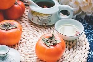 柿子可以和牛奶一起吃吗,柿子可以吃皮吗缩略图