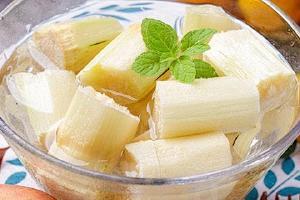 甘蔗发红切掉后能吃吗,甘蔗中间发红能吃吗缩略图