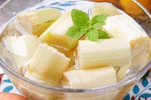 直接吃甘蔗补血吗,切掉变色的甘蔗可以吃吗缩略图