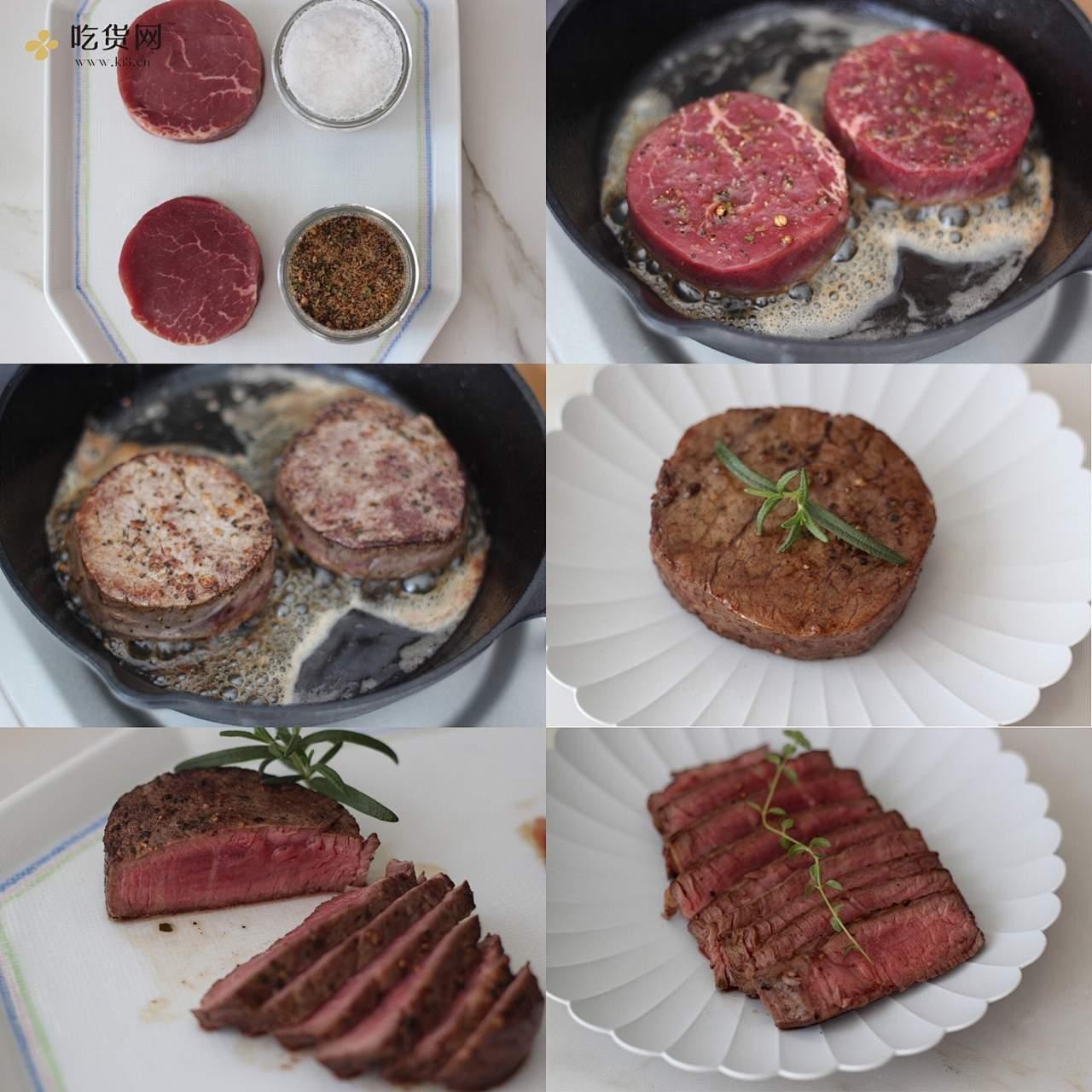 牛排丼的做法 步骤1