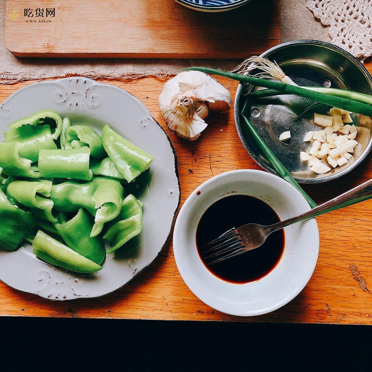 『米饭杀手』虎皮尖椒的做法 步骤1