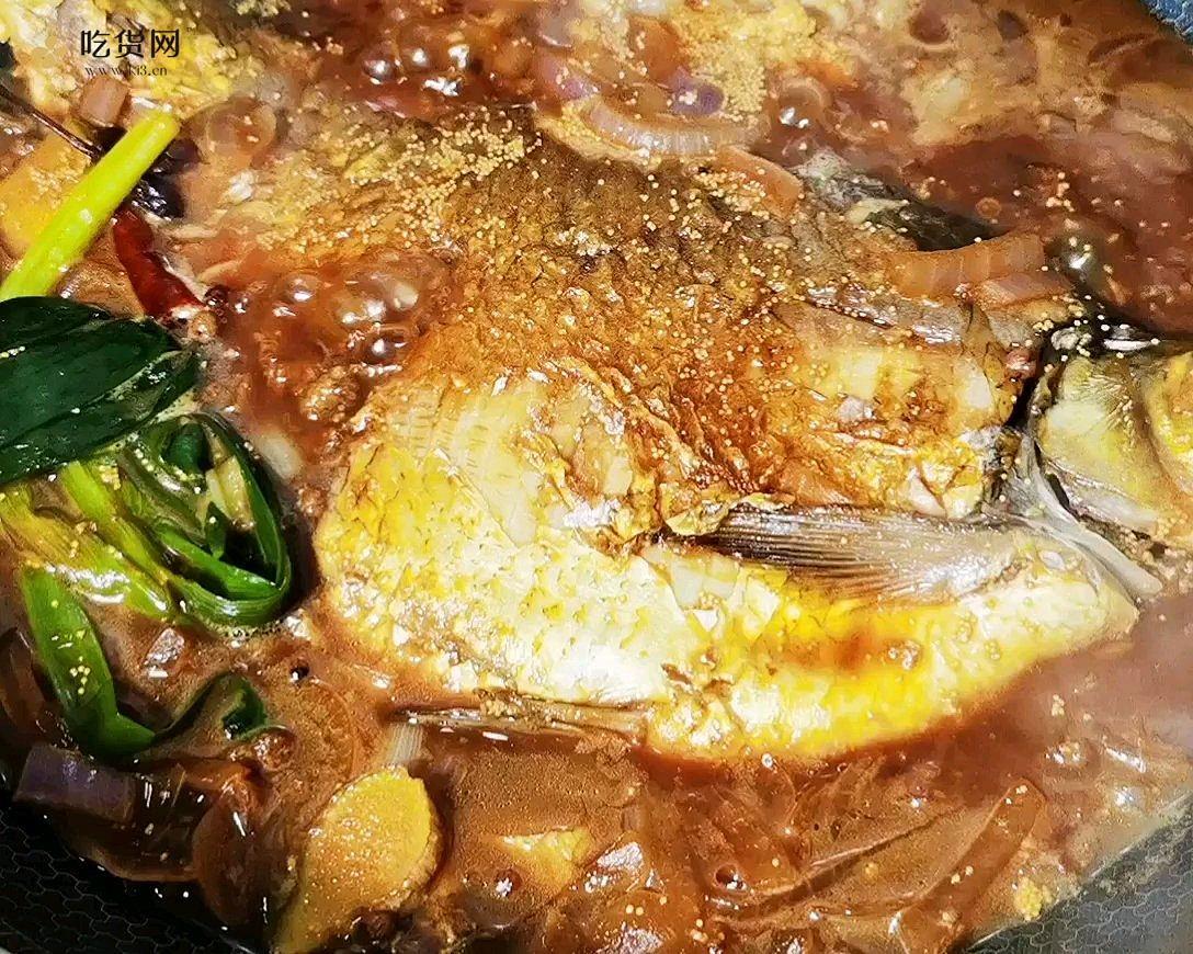 我的减肥餐~~红烧扁鱼的做法 步骤8