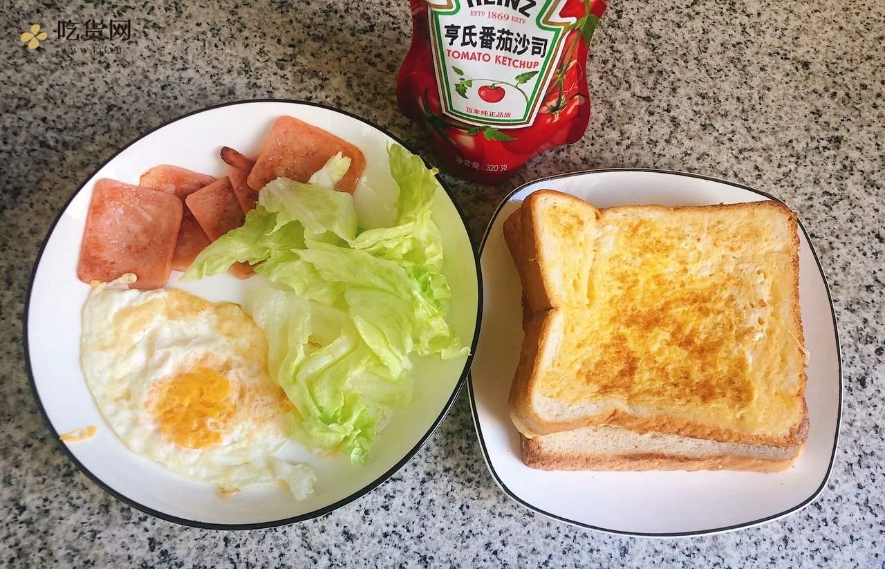 自制早餐三明治,色香味俱全的做法 步骤4