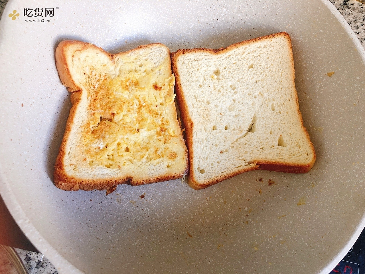 自制早餐三明治,色香味俱全的做法 步骤3