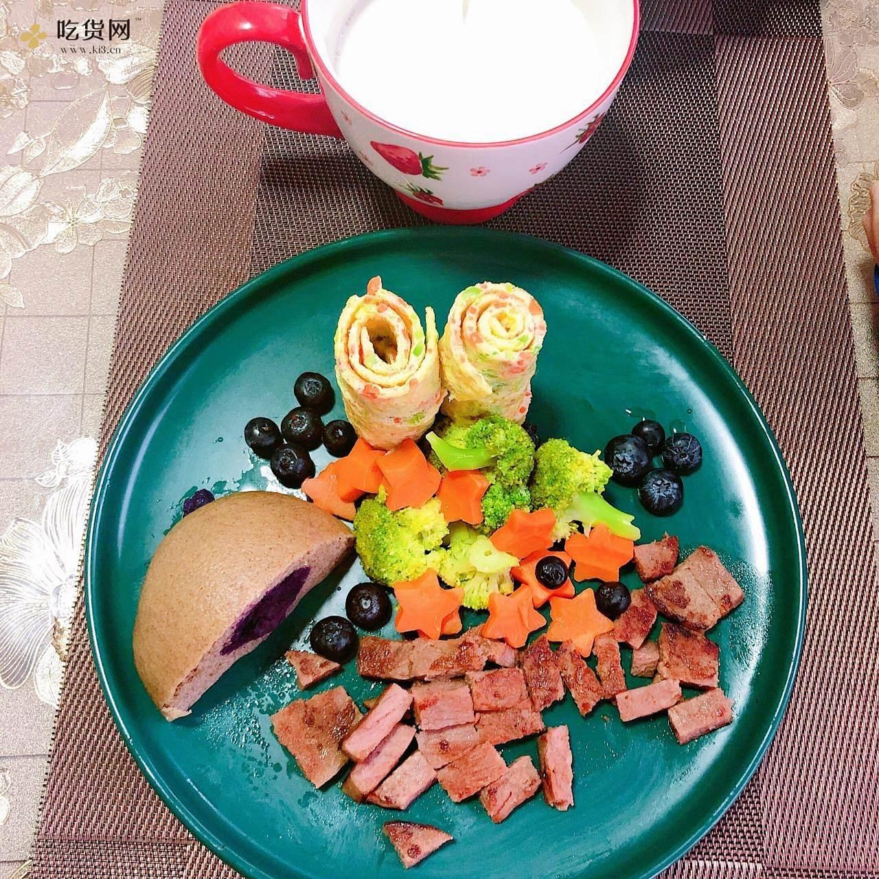 尽量给孩子做不同的早餐的做法 步骤3