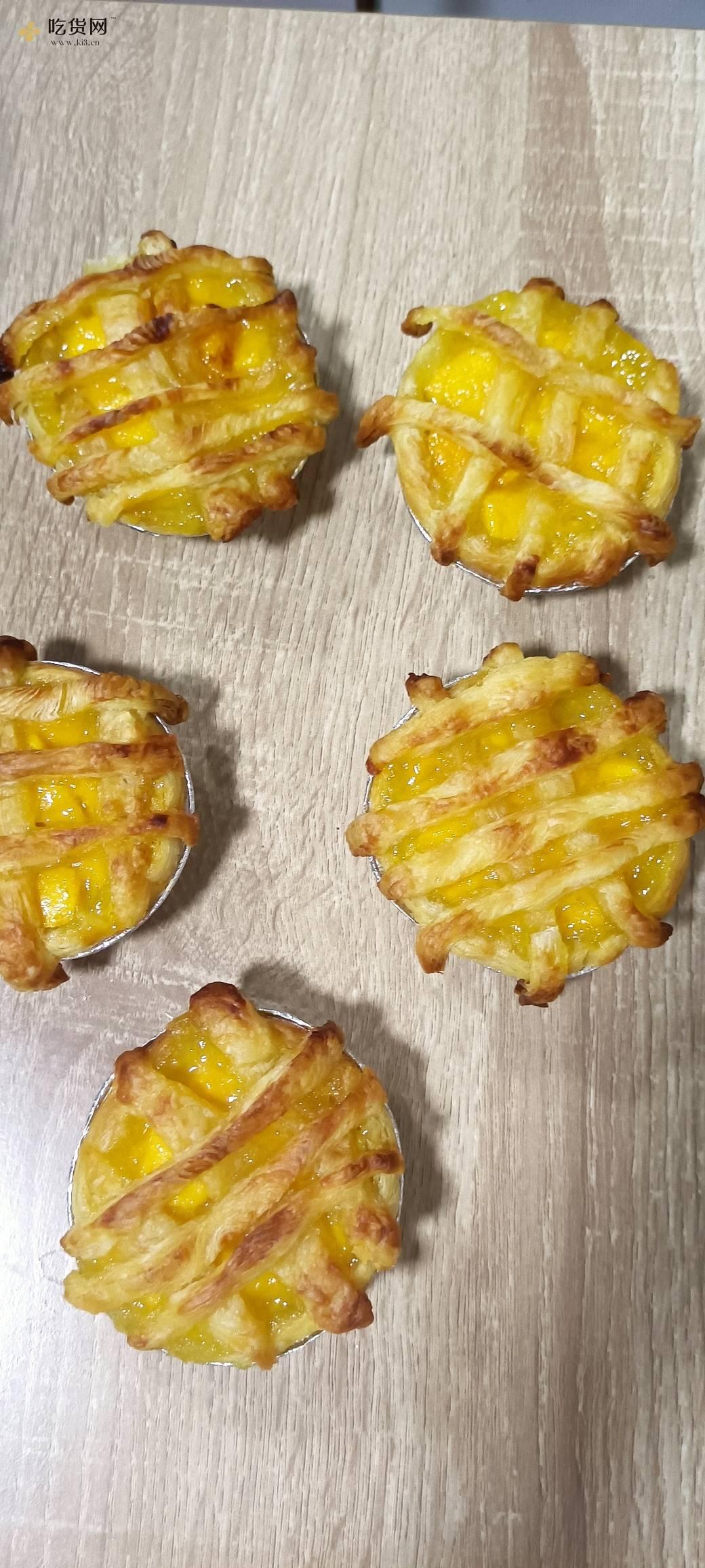 美味的蜂蜜芒果派(空气炸锅版)的做法 步骤6