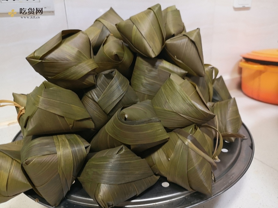 牛角粽包法的做法 步骤11