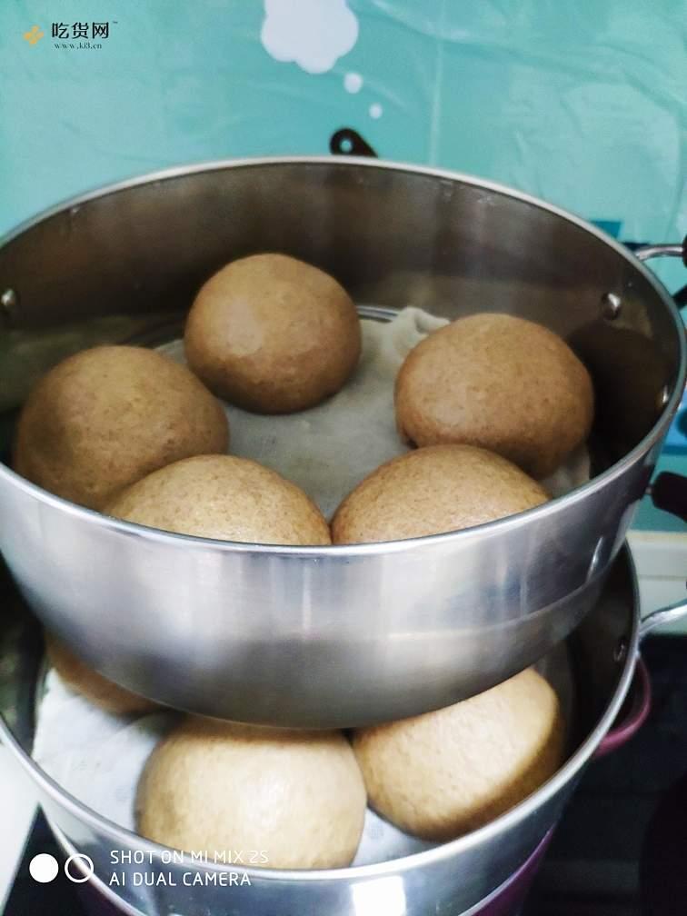 减肥餐黑全麦紫薯馒头的做法 步骤5
