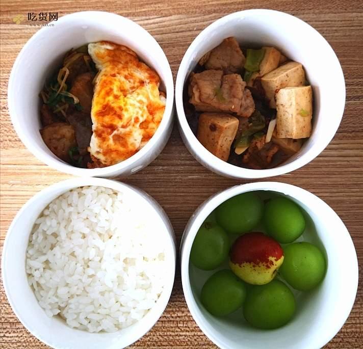 电饭盒 蒸饭 蒸菜 便当 减肥餐 低油的做法 步骤8