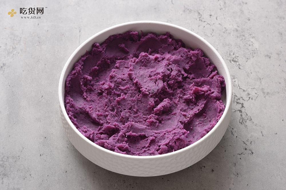 紫薯草莓大福的做法 步骤3