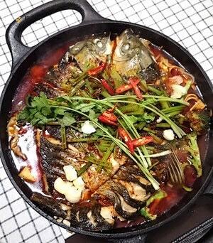 【低碳水食谱】无法抗拒的香辣烤鱼🐟,在家也能做的高蛋白的减肥餐谱的做法 步骤3