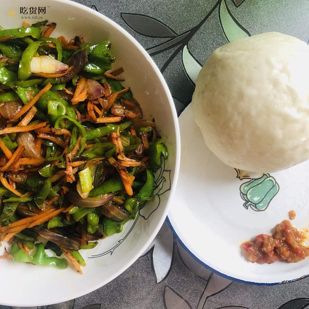 减肥餐-红萝卜炒青椒的做法 步骤12