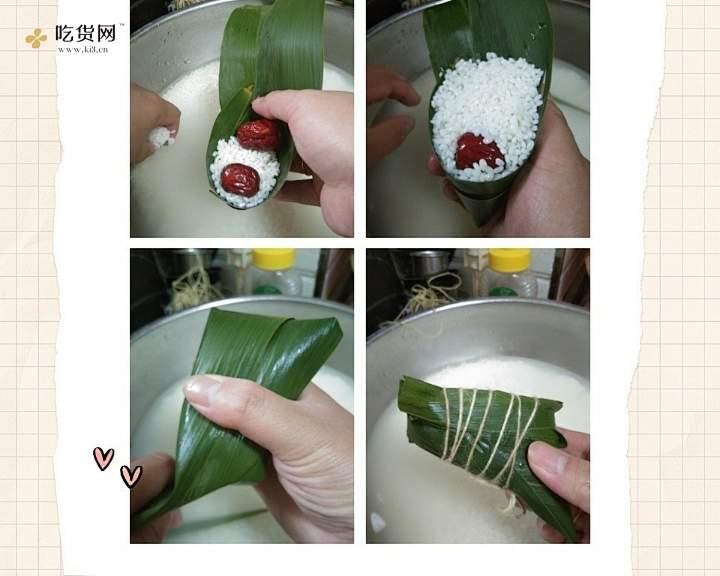 小枣粽子的做法 步骤2