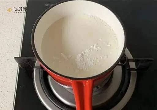 草莓牛奶小方的做法 步骤2