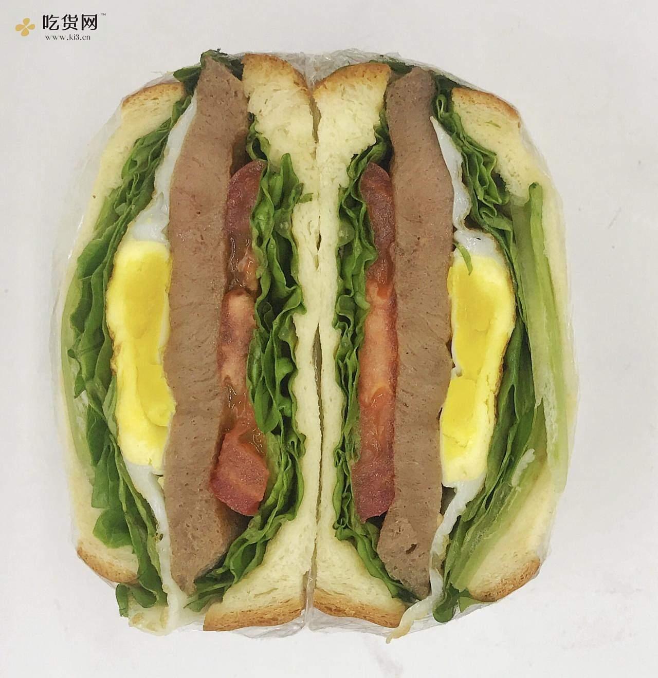 7天不重样系列之低卡减脂三明治的做法 步骤2