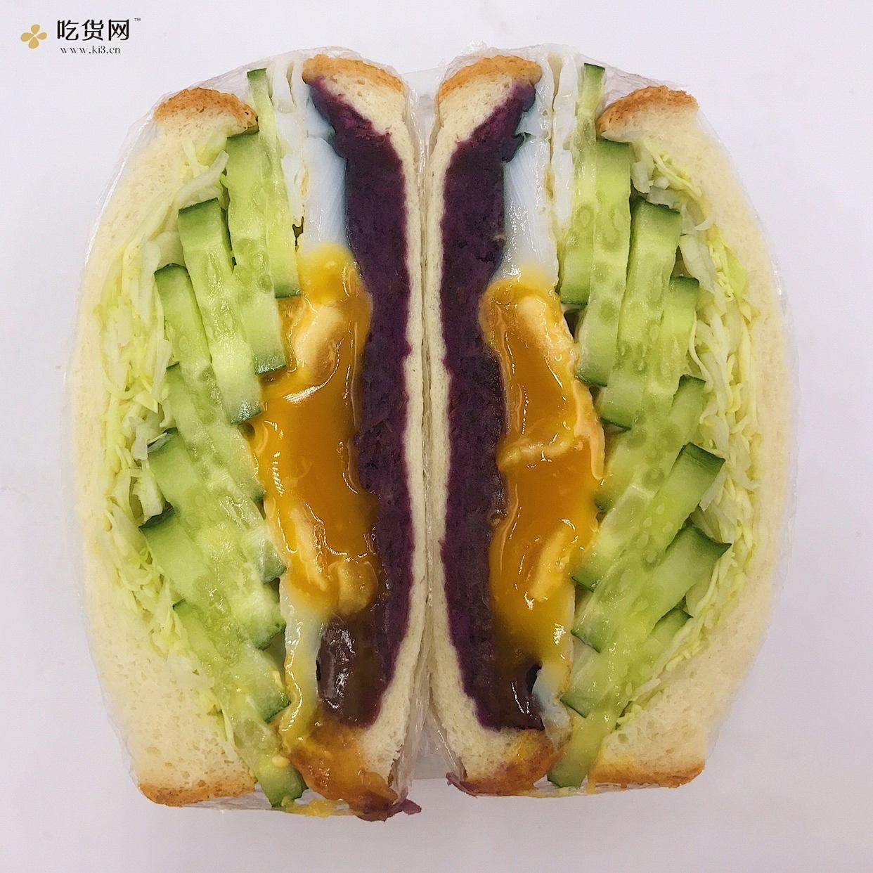7天不重样系列之低卡减脂三明治的做法 步骤7