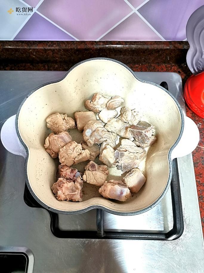 珐琅锅版糖醋排骨的做法 步骤5