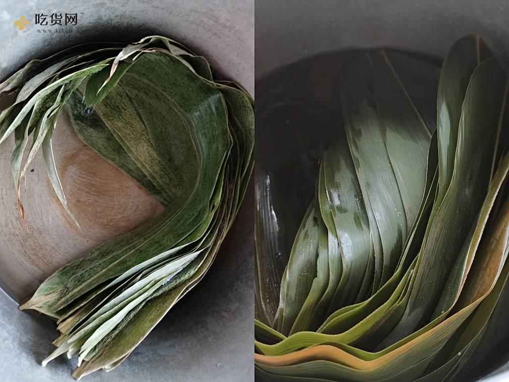 不用泡米,不用腌肉的花生米鲜肉粽(附视频零失败教学)的做法 步骤1