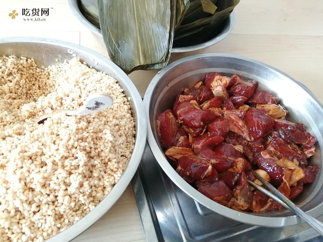 香飘飘的肉粽子的做法 步骤1