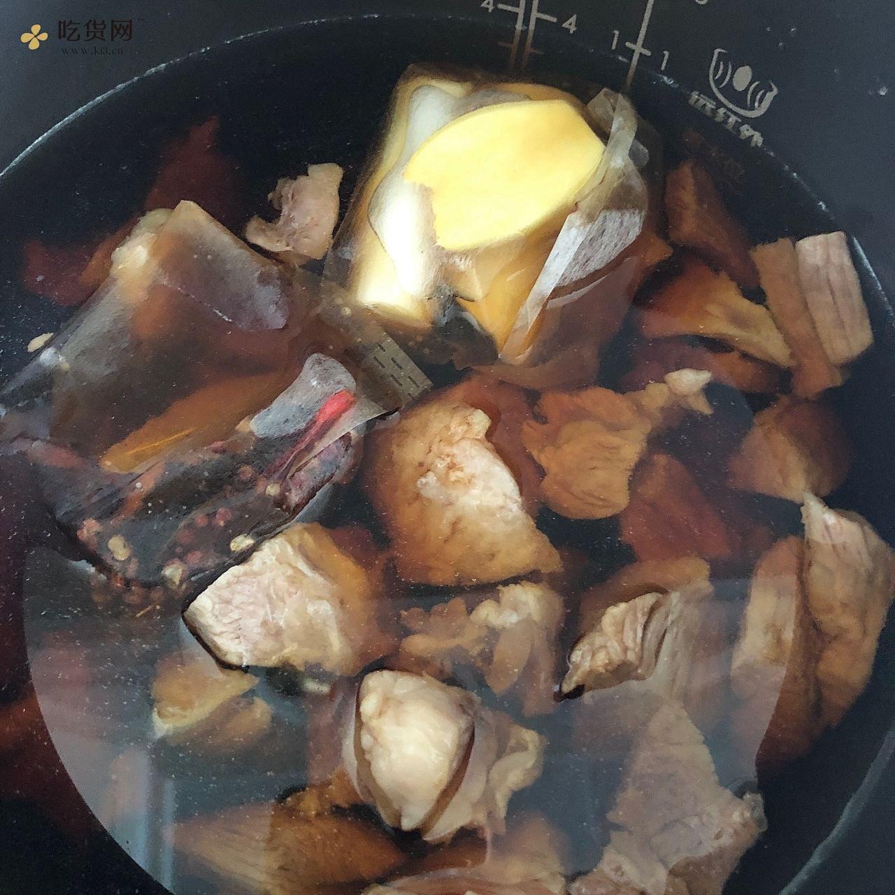 红烧牛肉(私房菜)的做法 步骤5