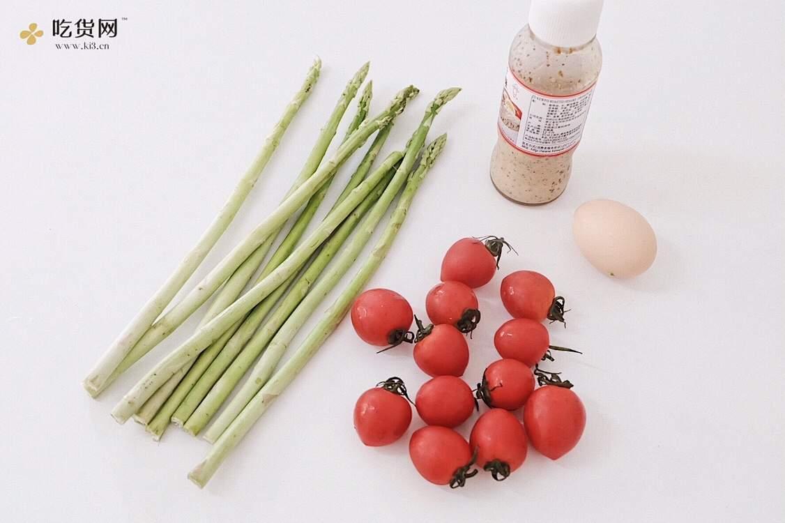🥗低脂芦笋素沙拉   快手减肥餐,营养均衡又美味!的做法 步骤1