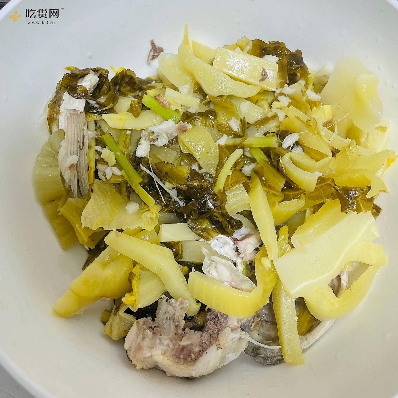家常版酸菜鱼(新手入门)的做法 步骤7