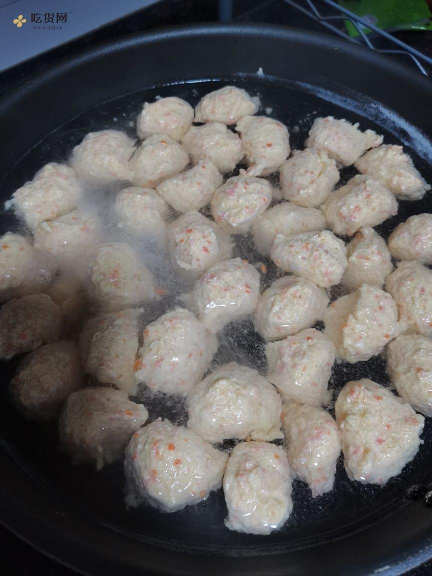 减肥餐:鸡胸肉丸子的做法 步骤4